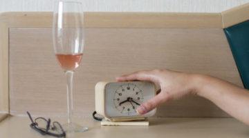 ALCOHOL OR SLEEP?