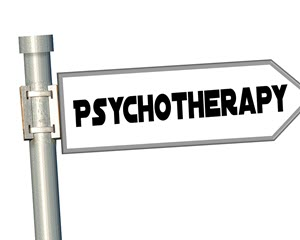 What is Psychotherapy? Treatment or therapy by a trained licensed therapist aimed at changing or stabilizing psychiatric or psychological symptoms and behaviors.